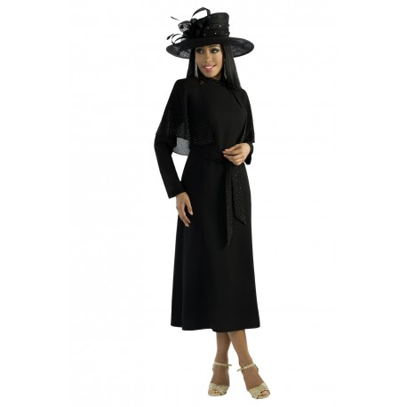 Lastest Women Dresses BLACK WHITE DN5262   Not Just Church Suits